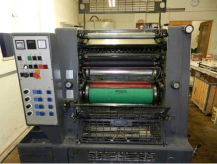 4 colours offset printing press GTOV 52