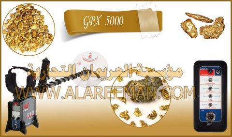 GPX 5000 لكشف الذهب المعادن
