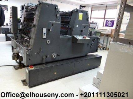 ماكينة HEIDELBERG GTO 52-2P