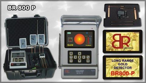 جهاز كشف الذهب والكنوز br800p
