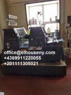 ماكينة طباعة هايدلبرج جي تي1992
