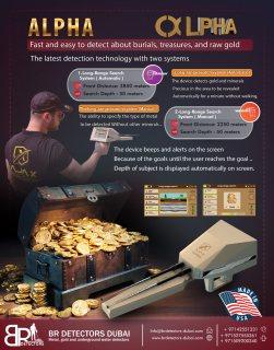 gold detectors Alpha Ajax / Long range metal detector